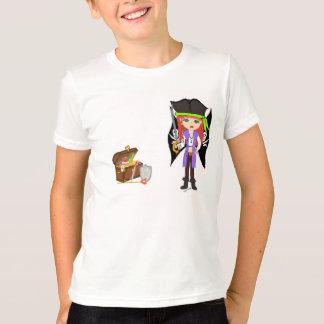 T-shirt Morgan fou Rackham avec la pièce en t de trésor