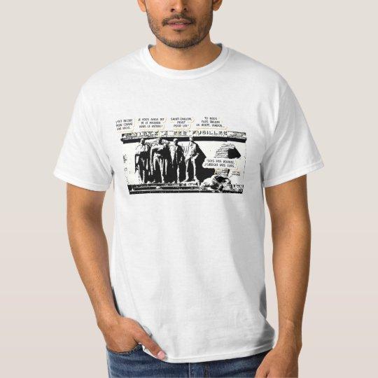 T-shirt Mort (d'un éclat) de rire