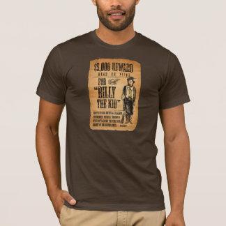 T-shirt Morts ou vivant voulus ! Billy l'affiche de