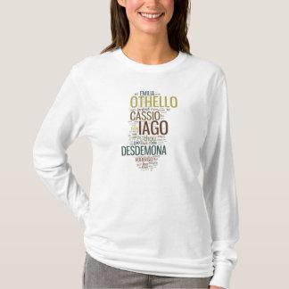 T-shirt Mosaïque de mot d'Othello