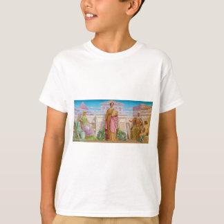 T-shirt Mosaïque d'histoire par Frederick Dielman