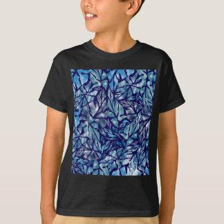 T-shirt motif B de feuille