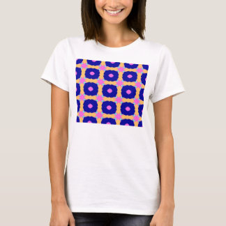 T-shirt motif bleu de cloches