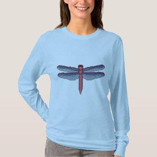 T-shirt Motif croisé de point de libellule