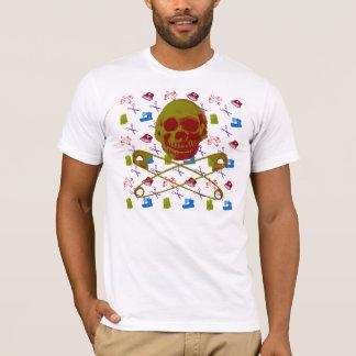 T-shirt motif de couture