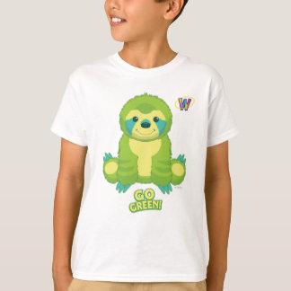 T-shirt Motif de devenez écolo de Webkinz