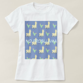 T-shirt Motif de lama