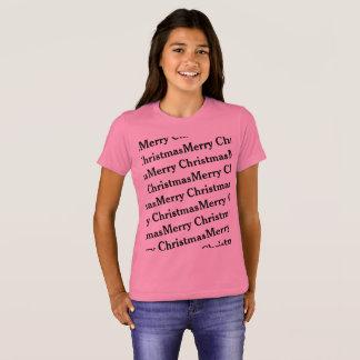 T-shirt Motif de répétition de Joyeux Noël