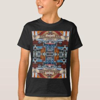 T-shirt Motif psychédélique de bâtiment
