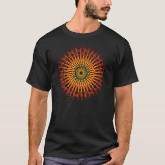 T-shirt Motif radial psychédélique : Art de vecteur :