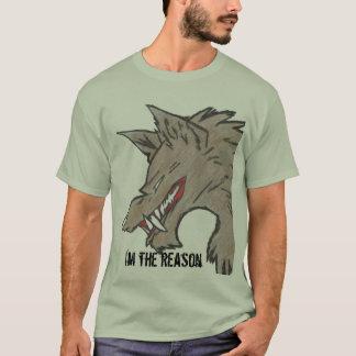 T-shirt motif réel