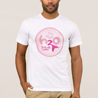 T-shirt Motif rose de sirène