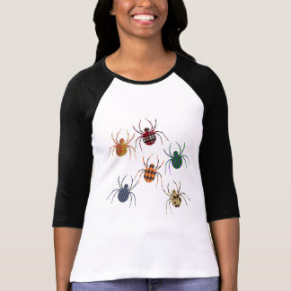 T-shirt Motifs de N d'araignées '