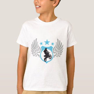 T-shirt moto-cross