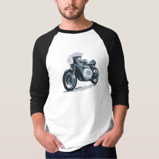 T-shirt Moto de classique de coureur de café