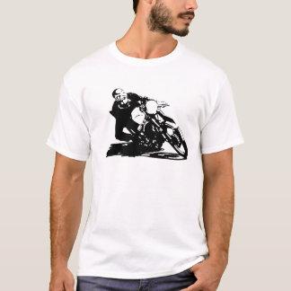 T-shirt Moto de coureur de café
