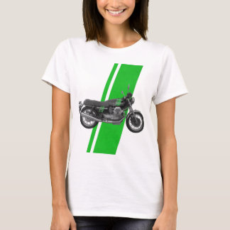 T-shirt Moto Guzzi - vert du cru 1000S