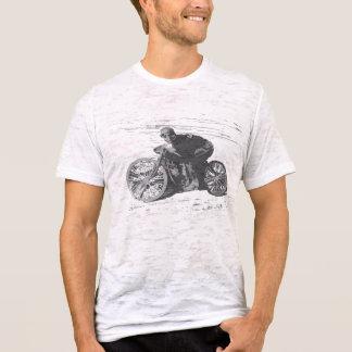 T-shirt Moto vintage Racer#3 de voie de conseil