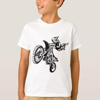 T-shirt Motocross de moto de motard