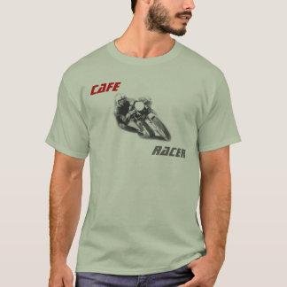 T-shirt Motocycle de coureur de café