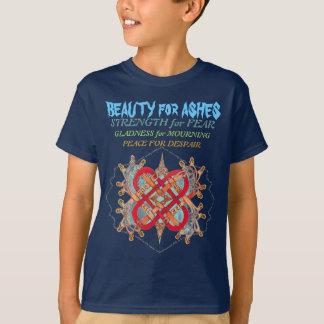 T-shirt Mots hébreux pour l'artiste d'amour, montagne