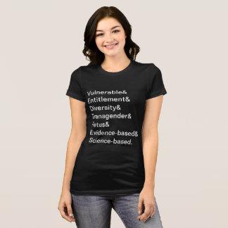 T-shirt Mots interdits par CDC