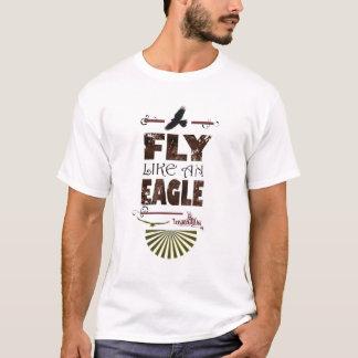 T-shirt Mouche comme Eagle - parapentisme