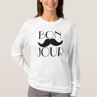 T-shirt Moustache de BONJOUR