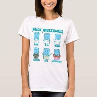 T-shirt Moustaches de lait