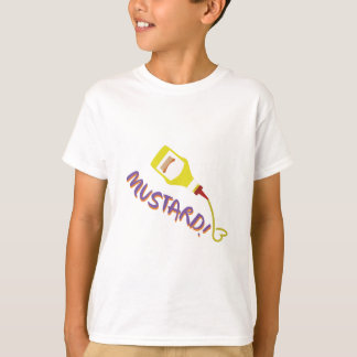 T-shirt Moutarde !