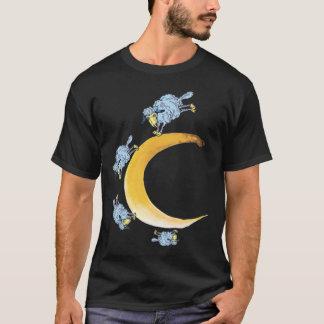 T-shirt Moutons et lune