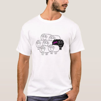 T-shirt Moutons noirs (amour)