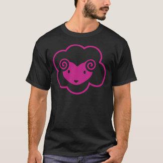 T-SHIRT MOUTONS ROSES