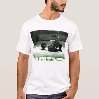 T-shirt Mouvements de nuit de cendrée
