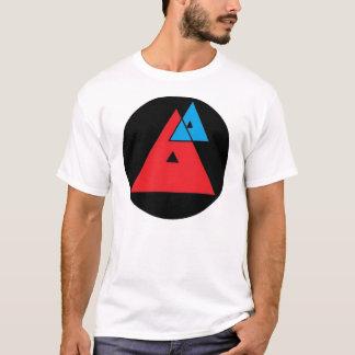 T-shirt moyen de logo d'analyse