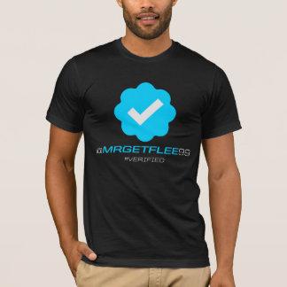 T-shirt @MrGetFlee99 - Vérifié - noir