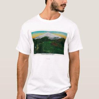 T-shirt Mt. Capot de rivière de Sandy, ORMt. Capot, OU