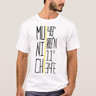 T-shirt München Munich coordonne la pièce en t, Allemagne