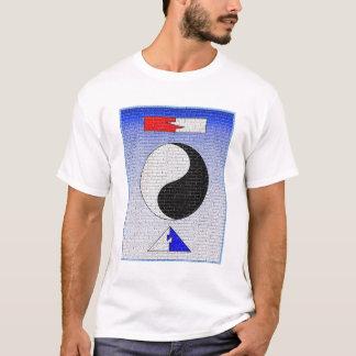 T-shirt Mur de zen