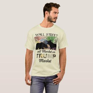 T-shirt Mur Strreet - marché haussier Ou marché d'atout