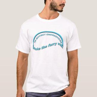 T-shirt Mur velu
