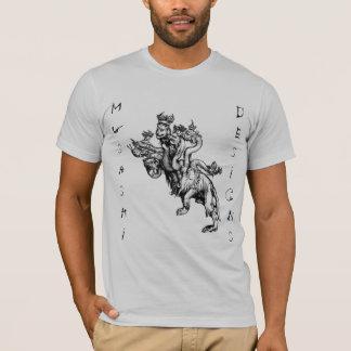 T-shirt Musashi conçoit l'hydre de Durer