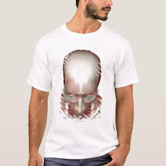 T-shirt Musculoskeleton de la tête et du cou