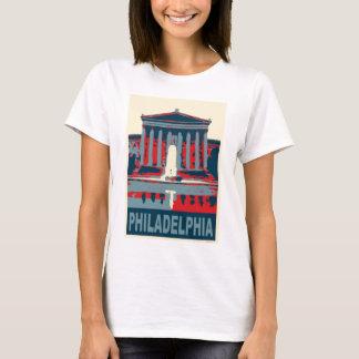 T-shirt Musée de Philadelphie dans le bleu