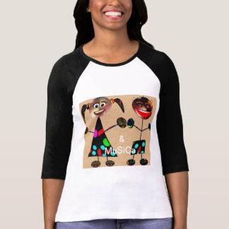 T-shirt *&   MuSiCa* de magasin   une conception italienne