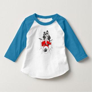 T-shirt musicien de panda