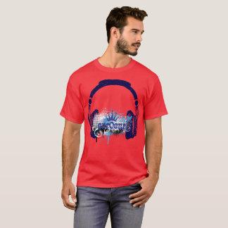 T-shirt Musique 101 écouteurs royaux