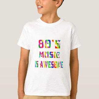 T-shirt musique 80s