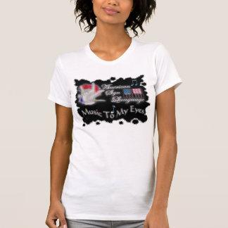T-shirt MUSIQUE d'asl à MES yeux