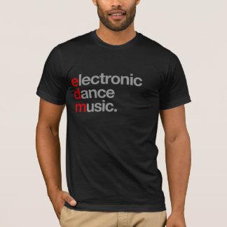 T-shirt musique de danse électronique